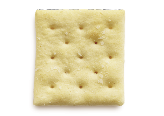 A Macro Shot Of A Heaping Pile Of Soda Crackers. Stock Photo ...