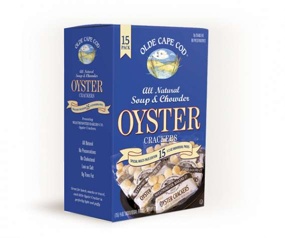 Old Cape Cod Crackers - Oyster 15 Ct. Box