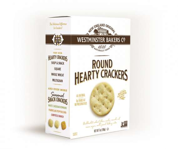 Round Hearty Crackers