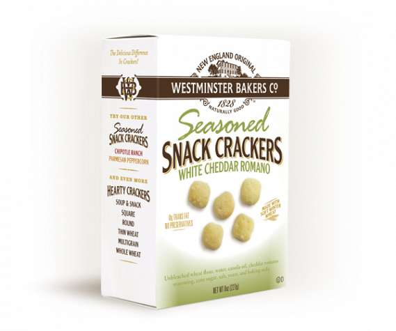 White Cheddar Romano Crackers